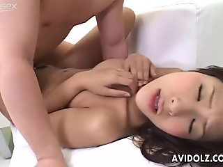 Passionate Japanese slut Akira Ichinose gets screwed brutally