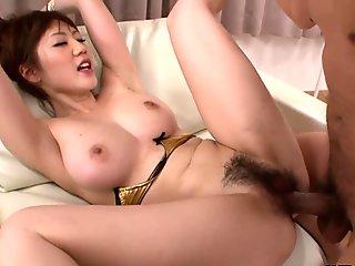 Japanese slut, Aki Ninomiya wouldn'_t charge for fucking neighbors, uncensored